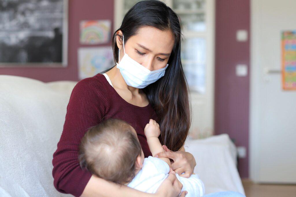 Οι μητέρες με λοίμωξη SARS-CoV-2